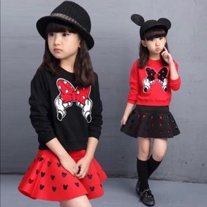 Girls 2pc 4T Minnie Set